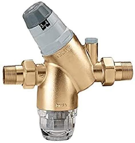 Caleffi Wasserdruckminderer 1/2 Zoll DN15 mit Wasserfilter Hausanschluss Druckreduzierer Filter Druckminderer für Wasser Hausanlage