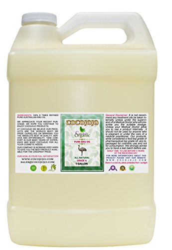 Learn More About Emu Oil - 100% Pure Natural 1 Gallon Australian Emu Oil Hair Face Body Healthy Best...