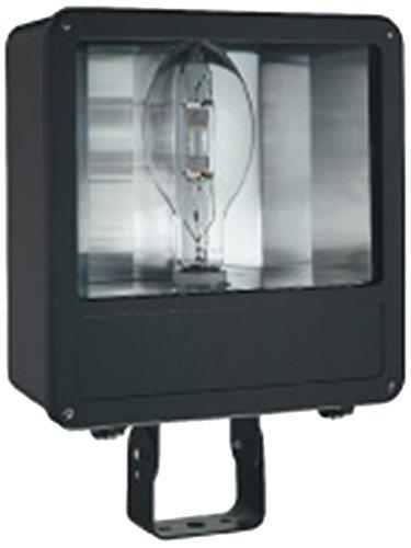 Lithonia Lighting F400ML SCWA Metal Halide Outdoor Flood Light, 400 watts, 28,000 lumens, Black, 1-Light
