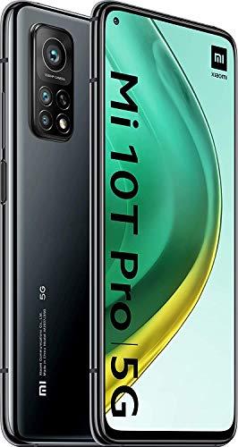 """Xiaomi Mi 10T Pro Pack de Lanzamiento (Pantalla 6.67"""" FHD+ DotDisplay, 8GB+128GB, Cámara de 108MP, Snapdragon 865 5G, 5.000mAh con carga 33W) Negro Cósmico [versión española]"""