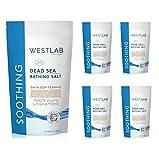 Dead Sea bath salt (1000g) Bulk Pack x 6 Super Savings by Westlab