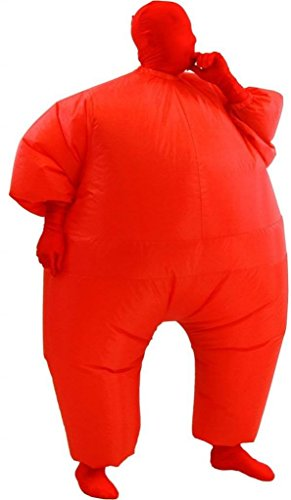 Inflatable Adult Chub Suit Costume (Red)