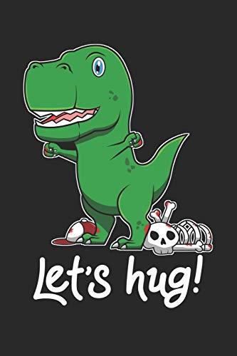 Let's Hug: 6x9 Zoll ca. DIN A5 Einhorn Notizheft gepunktet | 120 Seiten gepunktetes Einhorn Notizbuch für Notizen in Schule, Universität, Arbeit oder zuhause. | Eine tolles Geschenk für Ihre Liebsten.