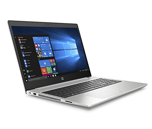 "HP - PC ProBook 450 G7 Notebook, Intel Core i5-10210U, RAM 8 GB, SSD 256 GB, Grafica Intel UHD 620, Windows 10 Pro, Schermo 15.6"" FHD IPS, Lettore Impronte Digitali, HDMI, RJ-45, USB-C, Argento"