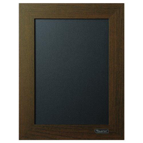 Quartet Chalkboard, 8-1/2' x 11' Chalk Board, Wood Finish Frame (80214)