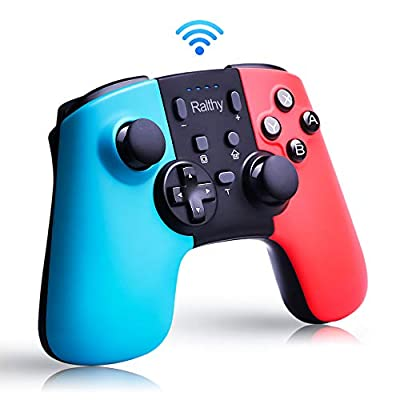 Wireless Controller for Nintendo Switch,Remote Pro Controller Gamepad Joystick for Nintendo Switch Console, Supports Gyro Axis, Turbo and Dual Vibration [Update Version] by Ralthy