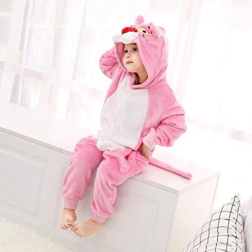 Pijama Moda Infantil Animal Pantera Rosa Kugurumi Divertido Mono Invierno Cosplay Pijamas Disfraz...