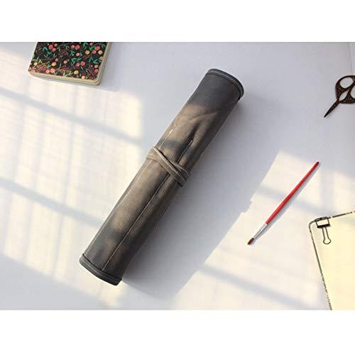 Penseelhouder, 20 SlotsBag Case Paint Brush Opslag Canvas Pouch voor Acryl Olie Aquarel Gouache Artiest Paint Borstel Roll Canvas Pouch A
