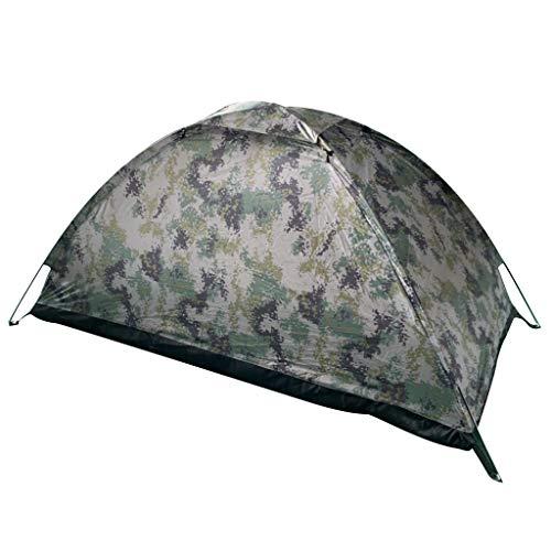 Fullnoon Tienda de campaña, tienda de campaña impermeable personal, fácil de instalar, tienda de senderismo para montañismo, viajes de camping al aire libre, pesca anti-UV