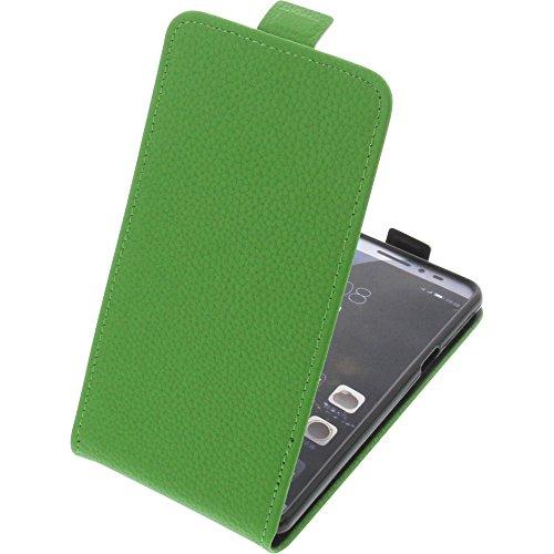 foto-kontor Tasche für coolpad Max Smartphone Flipstyle Schutz Hülle grün