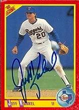 Autograph Warehouse 48891 Jeff Kunkel Autographed Baseball Card Texas Rangers 1990 Score No .431