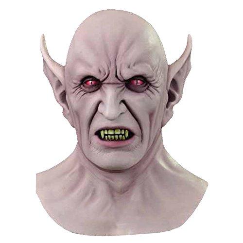 Générique - Mahal726 - Masque Latex Adulte - Vampire Démon - Taille Unique