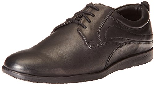 Hush Puppies Men's Zero G Lace Up Black Leather Formal Shoes -...