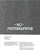 No Photographing