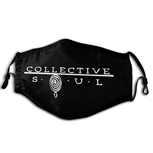 TerryDoyal Unisex Collective Soul Logo Outdoor Reusable Washable Anti Dust Cycling Face Mouth Cover for Adults & Kids