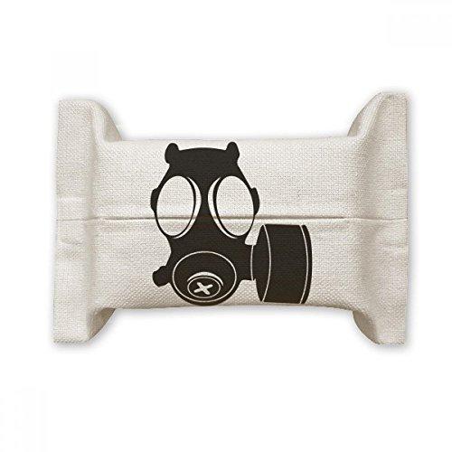 DIYthinker Pollution Counter Strike Masque à gaz en Coton et Lin avec Support pour couvercles Multicolore 17 x 27 cm