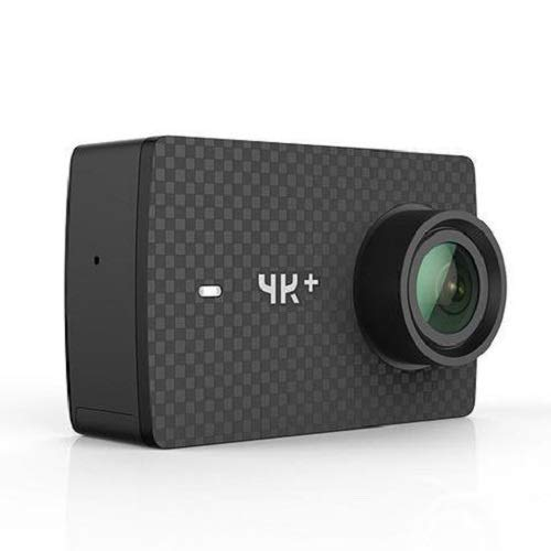YI 4K+ Action Camera, Sports Cam with 4k/60fps Resolution, EIS,Voice Control, 12MP Raw Image (Renewed)