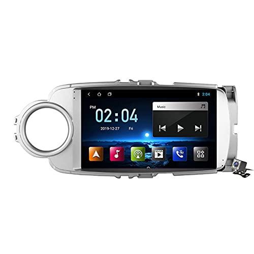Buladala Android 9.1 GPS Navigation Stereo Radio para Toyota Yaris 2012-2017, 9