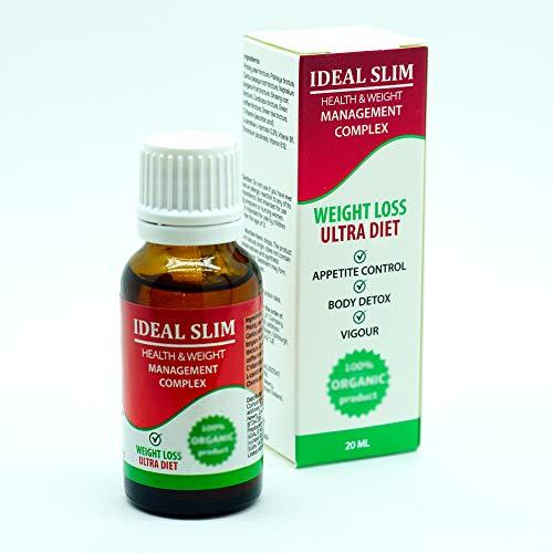 IDEAL SLIM - Complejo para la gestión de la salud y el peso. Gotas de 20 ml.