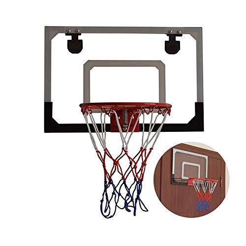SMLZV Basketball Wandmontage Boards, Kid Wandmontage Klar Boards, mit Basketball & Pump, Flex-Ring, Wandhalterung und Netz, for Indoor/Outdoor-Einsatz