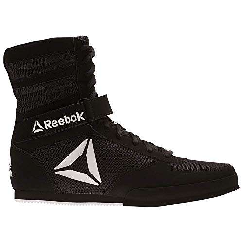 Reebok Herren Boxing Boot Box-Stiefel, schwarz/weiß, 46.5 EU