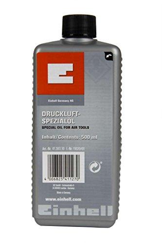 Original Einhell Spezialöl (passend für Druckluftwerkzeuge, Inhalt 500 ml)
