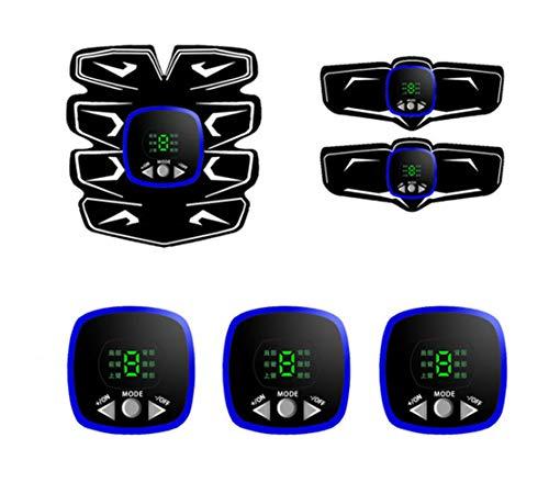SPTIDY Electroestimulador Muscular, Abdominales Masajeador Eléctrico Cinturón con USB, Estimulador Muscular Ejercitar...