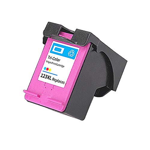SXCD Cartuchos de Tinta 123XL para HP, reemplazo para HP DeskJet 1110 1111 3630 Envy 4510 4511 OfficeJet 3830 3831 Impresora de inyección de Tinta de Alta Rendimiento Com 1~Color