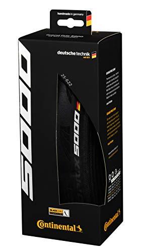 Grand Prix 5000 700 X 25 Black-BW + Black Chili