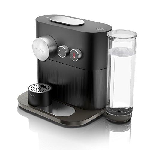 Krups Nespresso Expert & Milk XN6008 - Cafetera de cápsulas, 19 bares, 4 programas de café, conectividad con la App...
