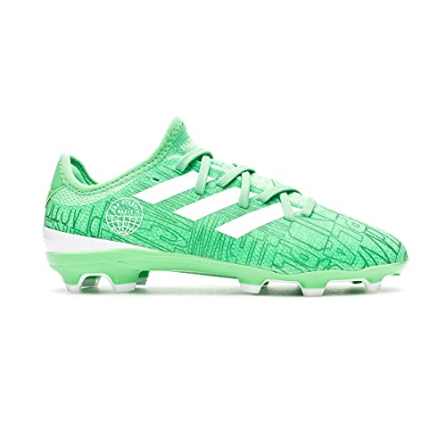 adidas Gamemode Knit FG Niño, Bota de fútbol, Green, Talla 5.5 UK (38 2/3 EU)