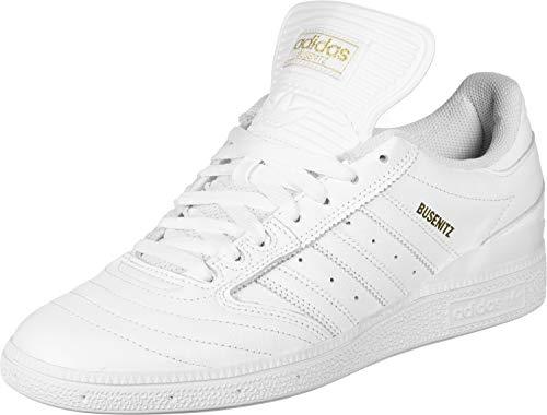 adidas Herren Skateschuh Skateboarding Busenitz Skate Shoes,White/Gold Met, 44 2/3 EU