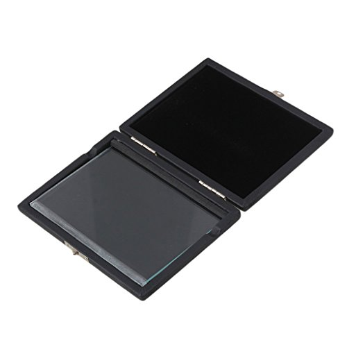 Homyl Caja Estuche para 6 Cañas de Clarinete Hecho de PU Cuero Color Negro