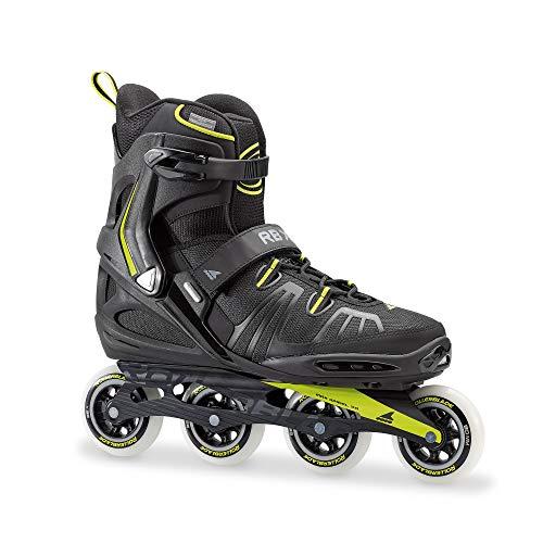 Rollerblade RB XL Inline Skate 2018 Black/Lime, 50