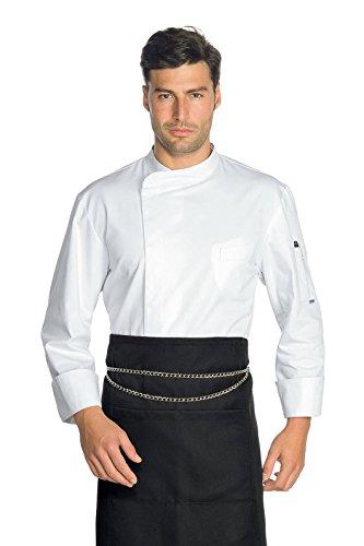 Isacco Jacke Cuoco Modell Yokohama, Weiß, S, 100% Polyester, Superdry, langärmelig