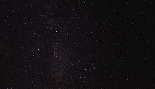 YYAYA.DS Starry Sky Galaxy Stars Glitter. - Art Print Silk Fabric Cloth Rolled Wall Poster Print 24x13 Inches