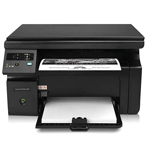 FASBHI printer, multifunctionele zwart-wit printer met scannerkopieerapparaat en fax-thuiskantoor A4