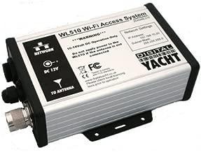 DIGITAL YACHT WL510, MFG# ZDIGWL510. WiFi Access system consisting of black-box booster/modem, 3039; external antenna w/ 1