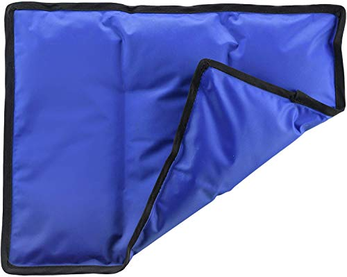 Gel Cold & Hot Pack - 11x14.5' Reusable Warm or Ice Pack for Injuries, Hip, Shoulder, Knee, Back Pain - Hot & Cold Compress for Swelling,...