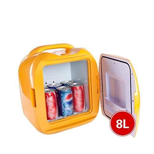 wangt Tragbare Gefriertruhe,Elektrische Kühlbox Langlebige Autokühlschränke Kleines Volumen Minikühlschrank-Für Fahrer Traveler Cold Beer Tea Medicine