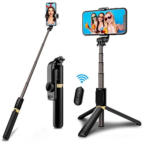 JPARR Bluetooth Selfie Stick Stativ,...