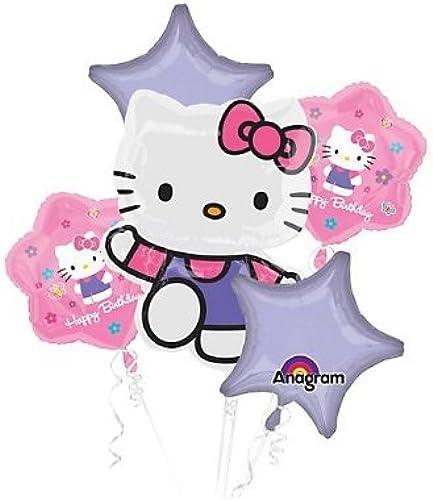 alta calidad y envío rápido Anagram Hello Hello Hello Kitty Birthday Balloon Bouquet by Anagram  El ultimo 2018