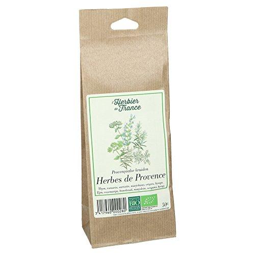 L'Herbier de France Herbes de Provence Bio Sachet Kraft 50 g - 1 pc