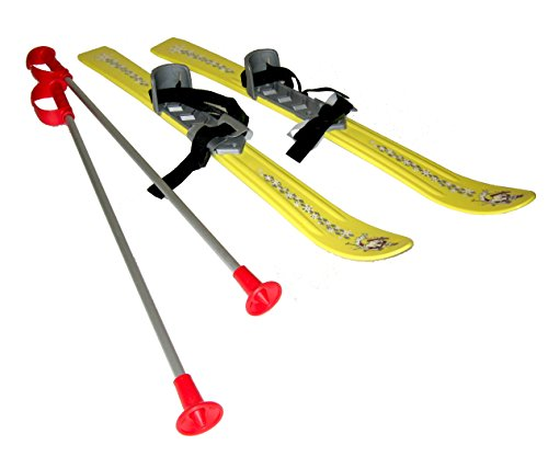 Plastkon Kinder Ski BABY, gelb, 90 cm