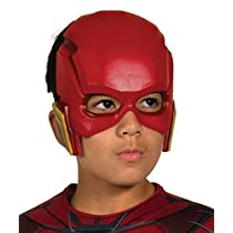 Rubies- DC Justice League-Máscara de Flash (talla única 3-10 años)