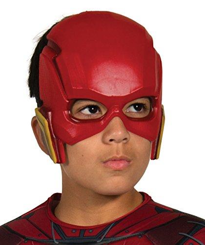 DC Justice League - Máscara de Flash para niños, accesorio