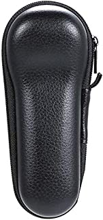 St. Lun Grborn Forehead Thermometer Storage Bag for Braun NTF3000 Hard Case with Leather Surface Shockproof Waterproof and...