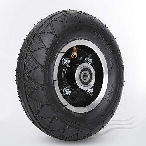 Nannday Neumático de Scooter eléctrico Profesional de 8 Pulgadas sin Gas, para Piezas de Repuesto de Scooter