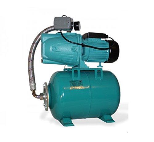 Wasserpumpe 600 W 3000 L/H inkl. 24 L Speicher und Druckschalter Jetpumpe Kessel Gartenpumpe Hauswasserwerk