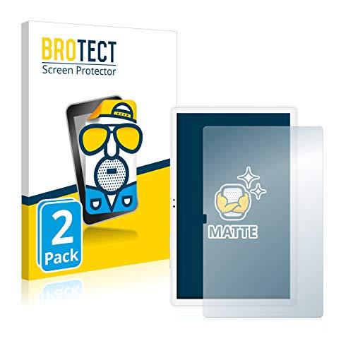BROTECT 2X Entspiegelungs-Schutzfolie kompatibel mit Samsung Galaxy Tab A7 10.4 WiFi 2020 Displayschutz-Folie Matt, Anti-Reflex, Anti-Fingerprint